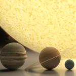 Comparando o tamanho da Terra