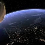 Um asteróide do tamanho de um ônibus passará entre a Lua ea Terra esta noite 25/01