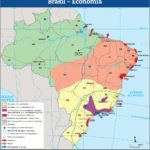 Mapa Economia do Brasil