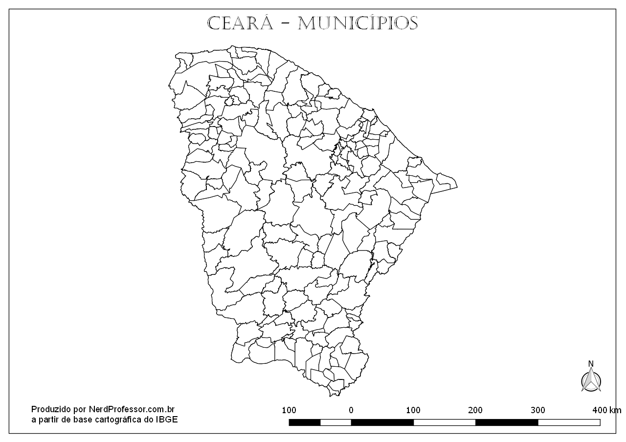Mapas Do Ceara Nerd Professor