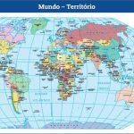Mapa Território Mundial – Mapa Mundi