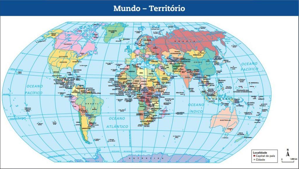 mapa mundi pdf Mapa Território Mundial – Mapa Mundi – Nerd Professor mapa mundi pdf