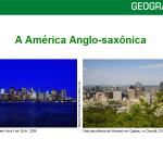 América Anglo Saxônica – Power Point