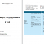 Planejamento de Geografia 2º ano Ensino Médio