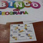 Bingo de Geografia  Estrutura Interna da Terra